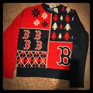 Mlb Shirts Tops Kids Boston Red Sox Ugly Sweater Poshmark